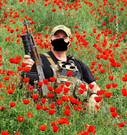Guarding Poppies